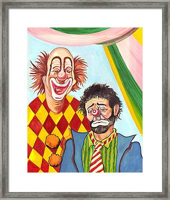 Under The Big Top Framed Print by Peter Melonas