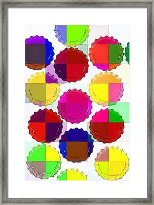 Under The Blanket Of Colors Framed Print by Florian Rodarte