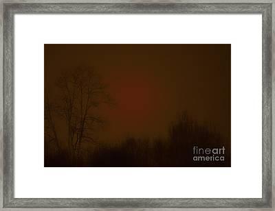 Under The Blood Moon  Framed Print by Thomas R Fletcher