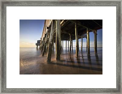 Under The Boardwalk Framed Print by Eric Gendron
