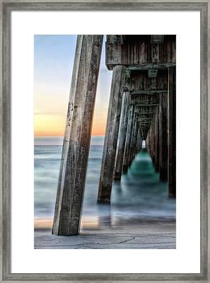 Under The Boardwalk Framed Print by JC Findley