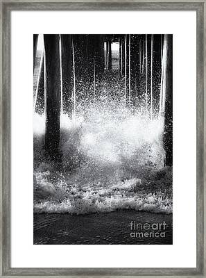 Under The Boardwalk Framed Print by Sue OConnor