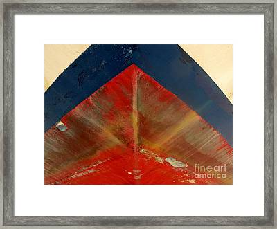 Under The Bow Framed Print