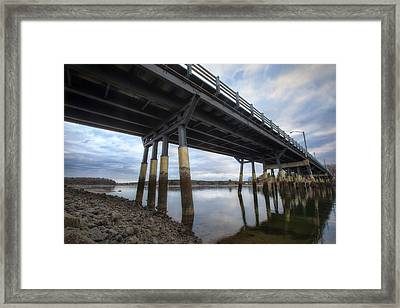 Under The Bridge Framed Print by Eric Gendron