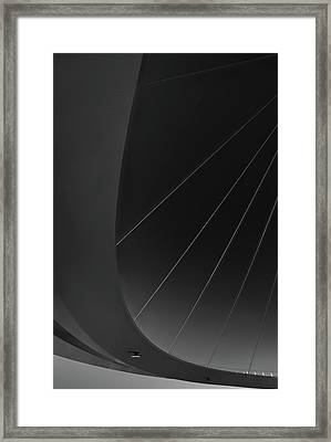 Under The Bridge Framed Print by Greetje Van Son