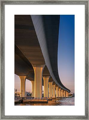 Under The Bridge Framed Print by Jola Martysz