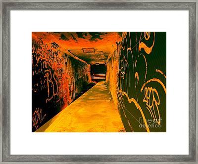 Under The Bridge Framed Print by Ze DaLuz