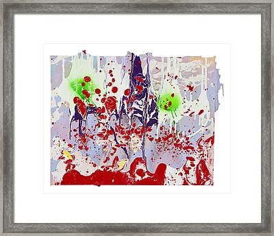 Under The Captain's Table Framed Print by Michael Filan