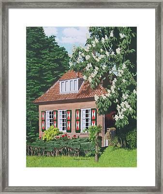 Under The Chestnut Tree Framed Print