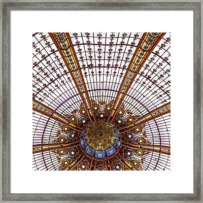 Under The Dome - Paris, France Framed Print