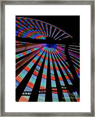 Under The Giant Wheel Framed Print by Mark Miller
