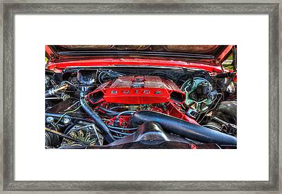 Under The Hood Framed Print by Amanda Stadther