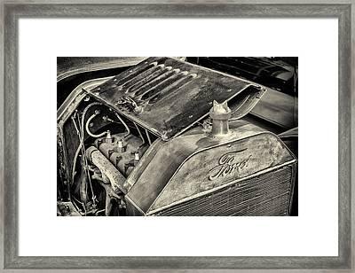 Under The Hood Framed Print by Martin Bergsma