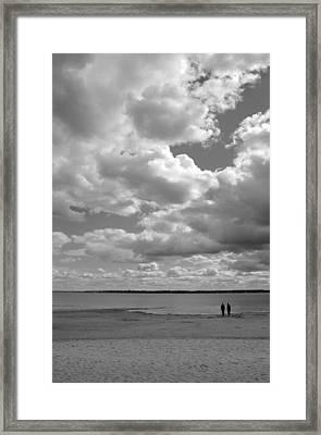 Under The Huge Sky Framed Print