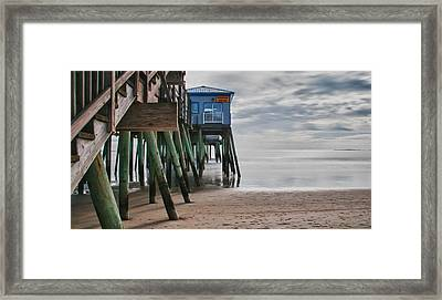 Under The Hurricane Raw Bar Framed Print by Guy Whiteley