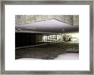 Under The Library Framed Print