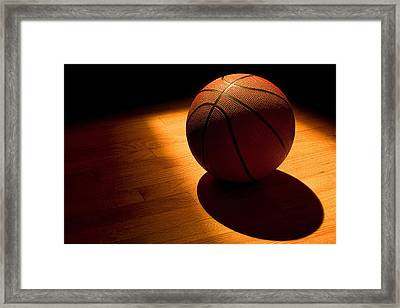 Under The Lights Framed Print