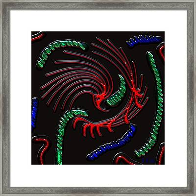 Under The Microscope Framed Print by Alec Drake