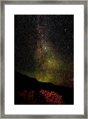 Under The Milky Way Framed Print by Greg Norrell