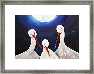 Under The Moonlight - Forever Framed Print