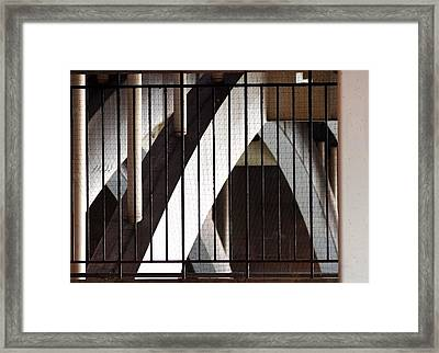 Framed Print featuring the photograph Under The Overground by Rona Black