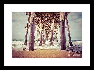 Dock Photographs Framed Prints
