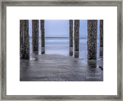 Under The Pier Framed Print by Scott Thorp