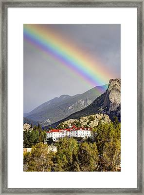 Under The Rainbow Framed Print by G Wigler