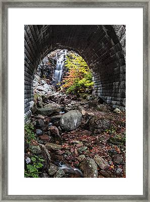 Under The Road Framed Print by Jon Glaser