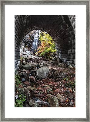 Under The Road Framed Print by Jon Glaser