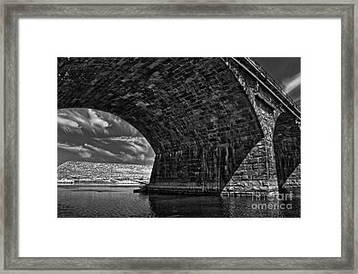 Under The Rockville Framed Print