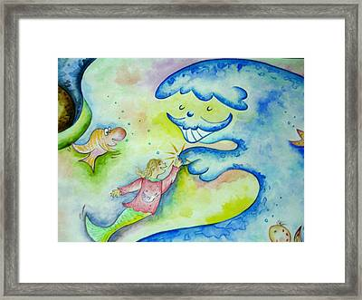 Under The Sea -2 Framed Print by Asida Cheng