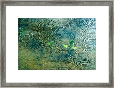Under The Sea - Featured 3 Framed Print by Alexander Senin