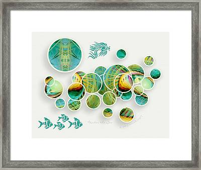 Under The Sea Framed Print by Gayle Odsather