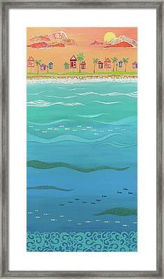 Under The Sea Framed Print by Jennifer Peck