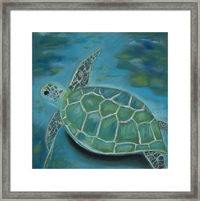 Under The Sea Framed Print by Mary Benke