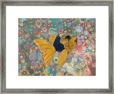 Under The Sea Party Framed Print by Sandi OReilly
