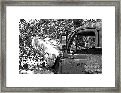 Under The Shade Tree Framed Print by Joe Russell