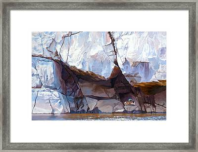 Under The Shadow Of The Almighty Framed Print
