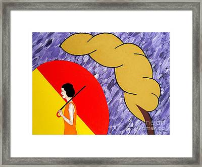 Under The Shelter Of Your Love Framed Print by Patrick J Murphy