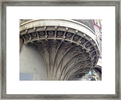 Under The Staircase Framed Print