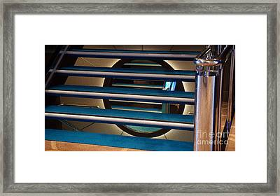 Under The Stairs Framed Print
