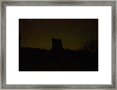 Under The Starry Sky Framed Print