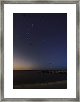 Under The Stars Framed Print by Susan Candelario