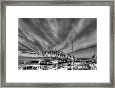 Under The Storm Framed Print