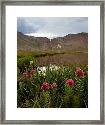 Under The Summit Framed Print by Jim Garrison