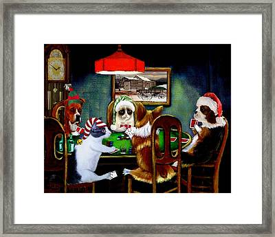 Taking A Break Framed Print by Ron Chambers