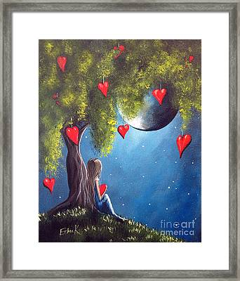 Under The Tree Of New Beginnings By Shawna Erback Framed Print by Shawna Erback
