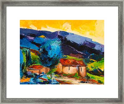 Under The Tuscan Sky Framed Print by Elise Palmigiani