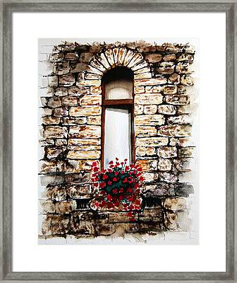 Under The Tuscan Sun Framed Print by Maria Barry